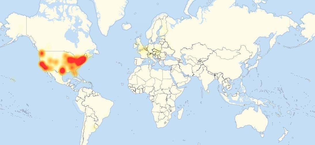 Major cyber attack knocks out popular websites ddos
