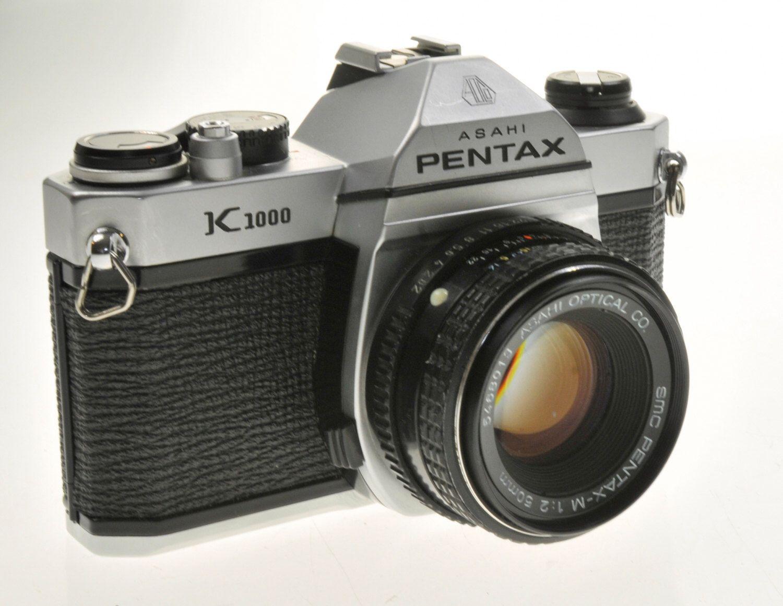 student camera pentax k1000 manual focus 35mm slr camera w 50mm f2 rh pinterest com manual focus slr film camera Requires a Digital SLR Camera Manual