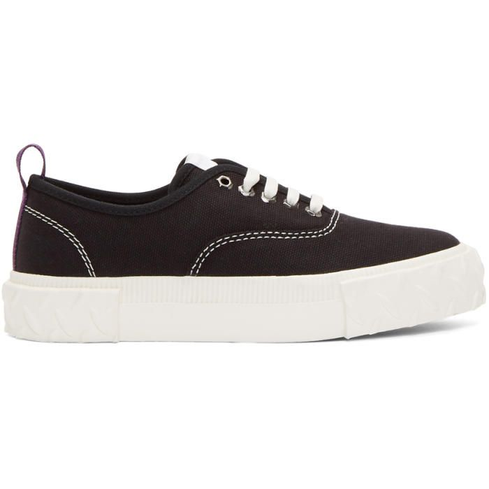 Black Canvas Viper Sneakers Eytys qkjOSvsw