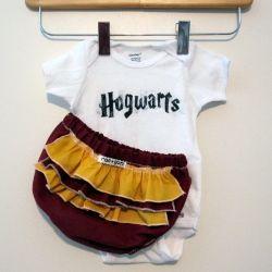 Forget Harvard this baby's Hogwarts bound.
