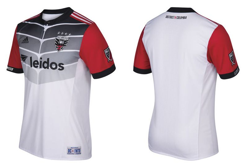 80d1d64961 Camisas do DC United 2017 Adidas MLS