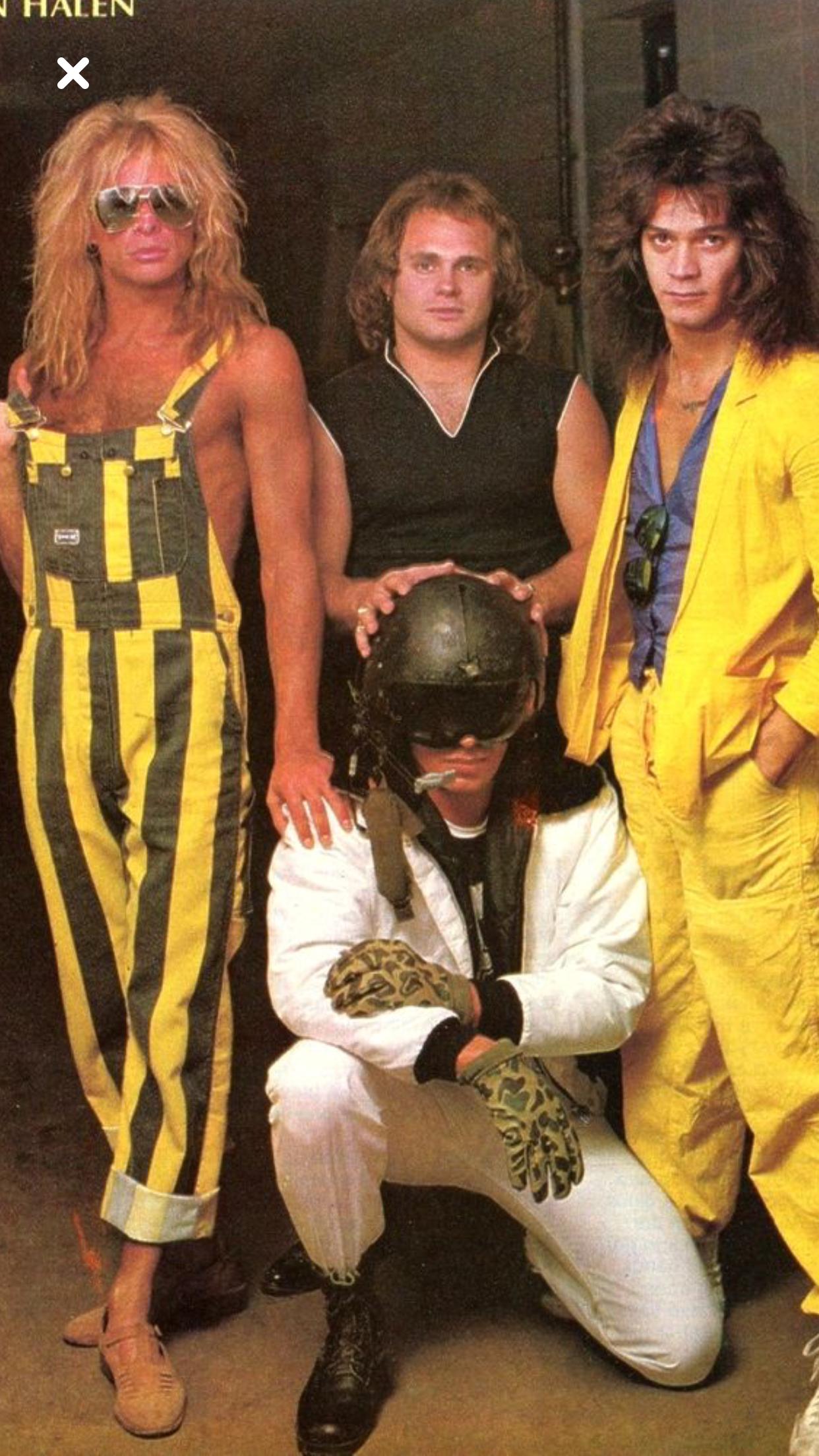 Pin By David Saucedo Jr On David Lee Roth Eddie Van Halen Van Halen Joey Tempest