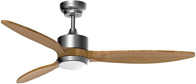 Amazon Com Ovlaim 52 Inch Led Ceiling Fan Dc Motor Ceiling Fan With Light Wood Ceiling Fan With Remote Cont Ceiling Fan Ceiling Fan With Light Led Ceiling Fan 52 inch ceiling fan with light