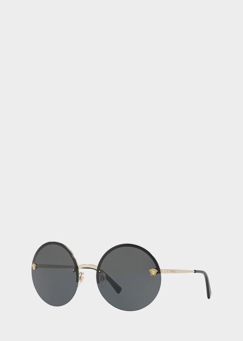 55854b94b Versace Black Mirror Medusa Sunglasses   Products