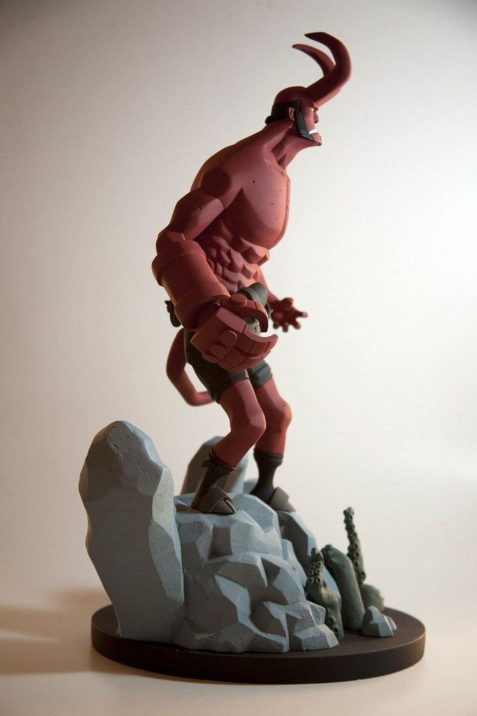 Hellboy Mike Mignola Toy People Inspo In 2019 Statue Mike