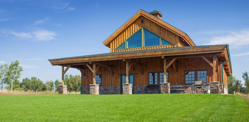 Great Plains Western Horse Barn Home Project ASN910