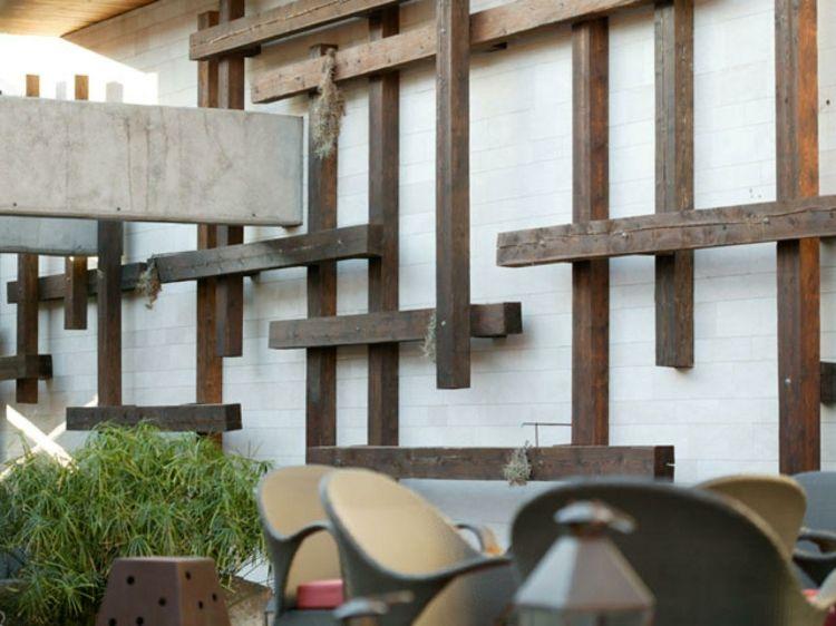 Déco Mur Extérieur: Beaucoup Du0027idées Design Pour Vos Murs
