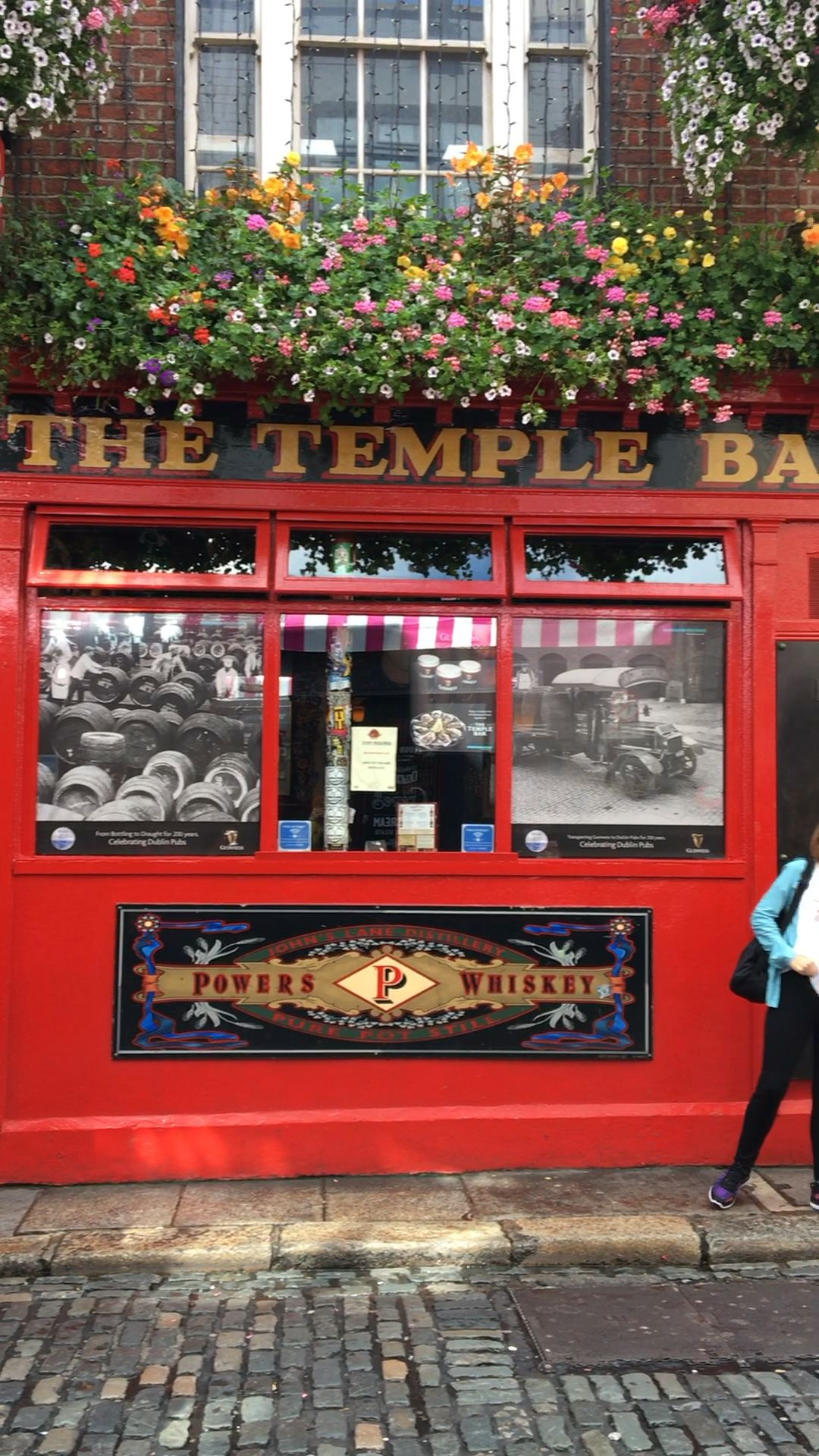 Temple Bar in Dublin, Ireland  #irelandtravel