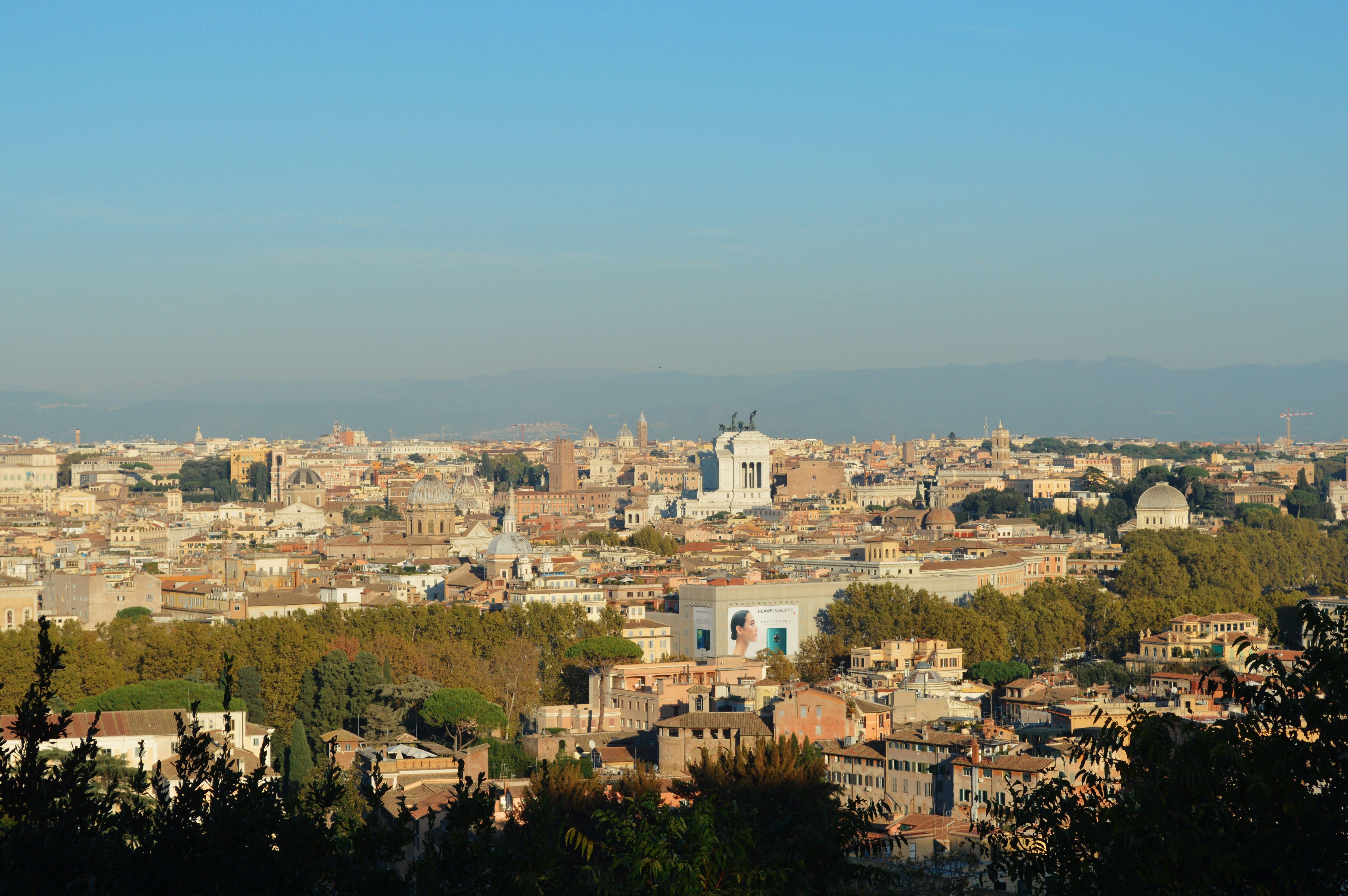 Terrazza Del Gianicolo Roma Italia