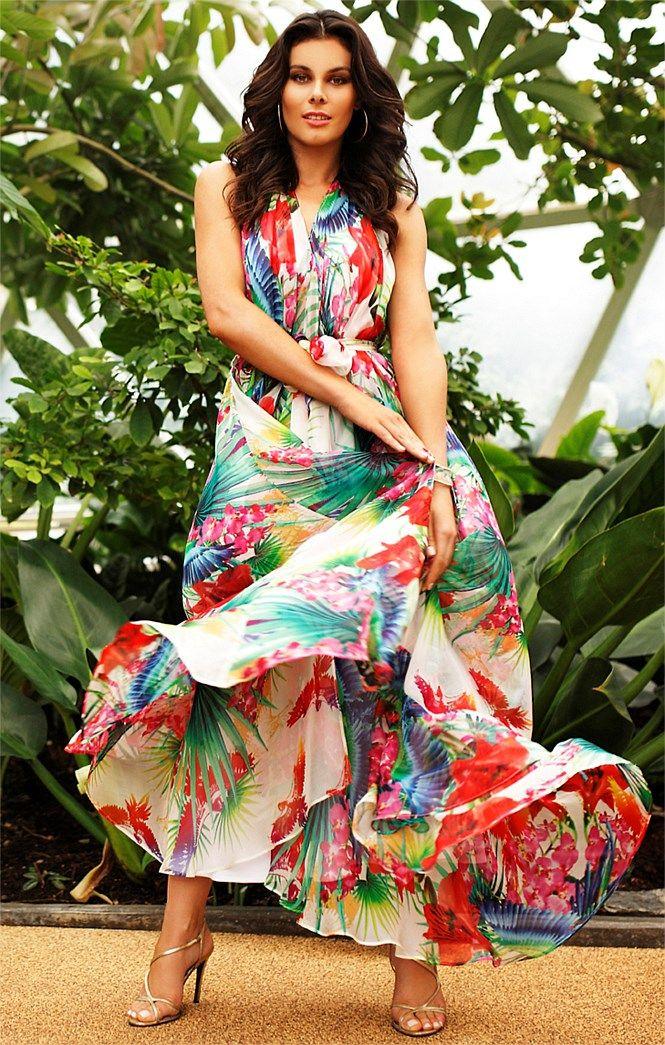 Great Mog Dress For Beach Wedding Tropical