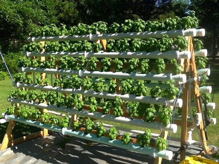 Build An Efficient A Frame Hydroponic System Hydroponics Diy Hydroponics System Hydroponic Gardening