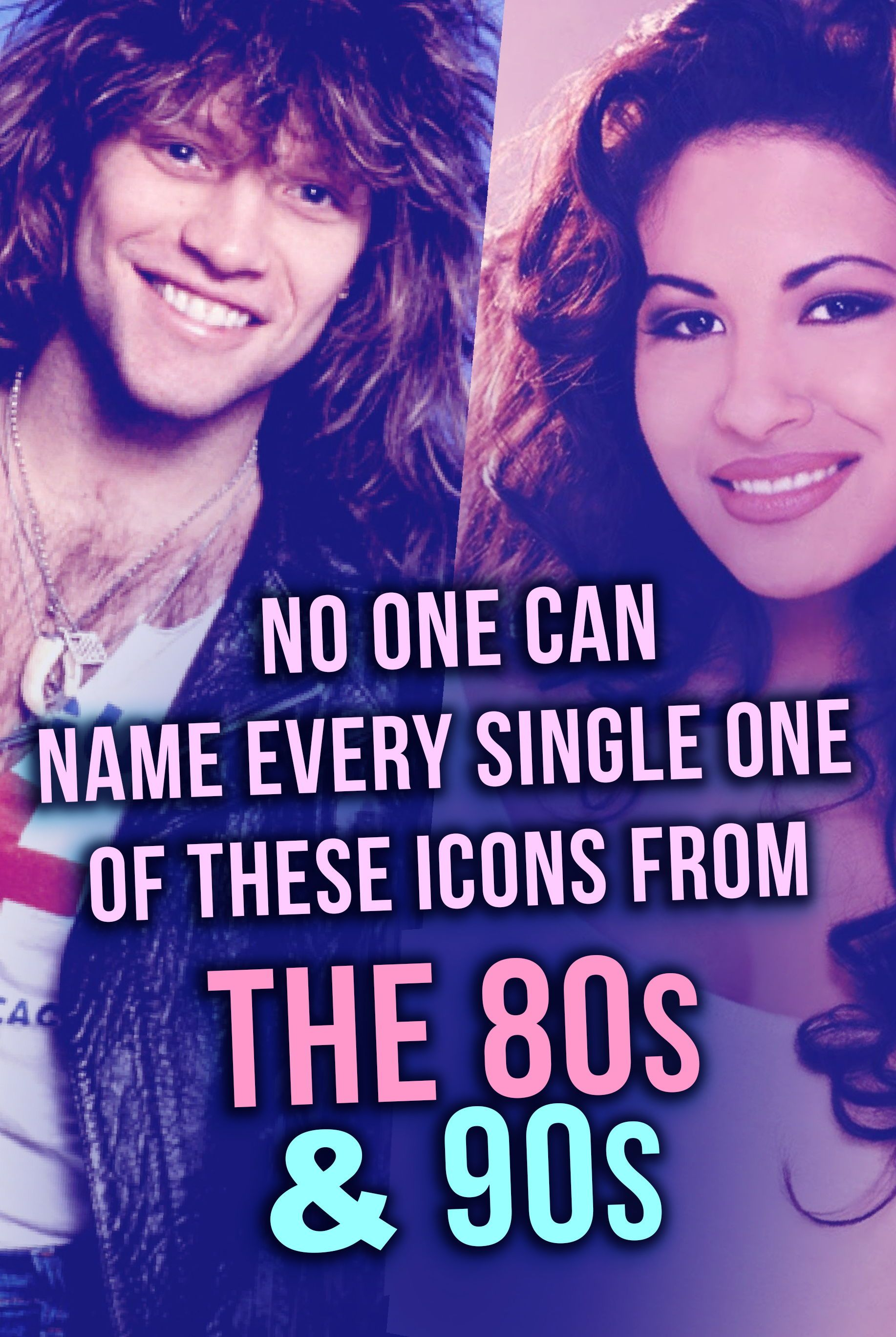 Quiz No One Can Name Every Single One Of These Icons From The 80s Amp 90s