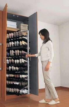 Convenient And Shoe Rack DesignsArmario Superbly Practical 45R3jLA