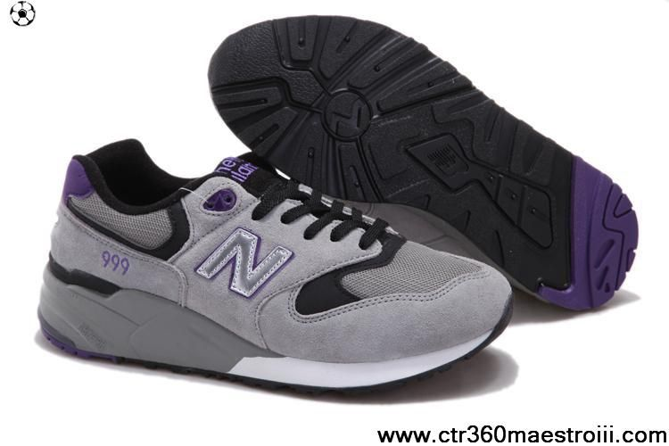 New Balance NB ML999GP classic Grey White Purple For Men shoes For Sale