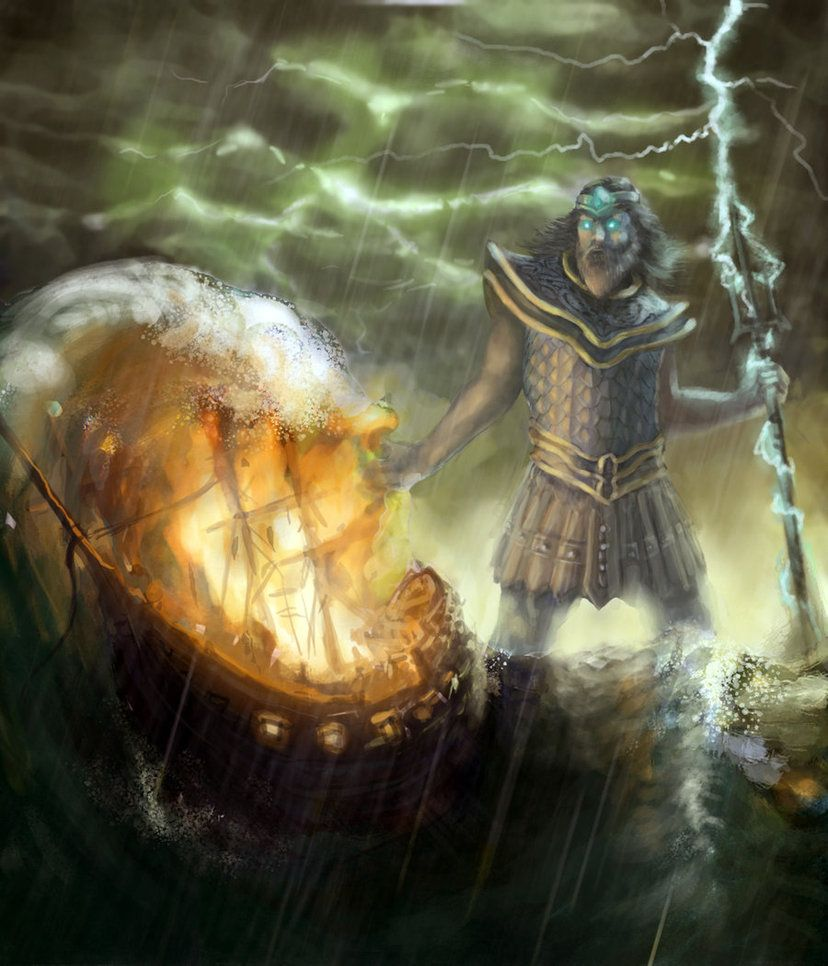 an analysis of the god poseidon in the greek mythology Ancinet-mythologycom provides a reference to the many myths and stories that have been formed by peoples from all over the earth, throughout all of time poseidon   greek mythology the son of kronos and rhea , poseidon was the greek god of the sea.