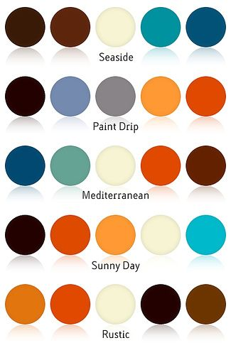 Color Combinations With Blue garrett lesage inspired color schemes | decorating, find furniture