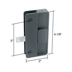 Crl Sliding Screen Door Latch And Pull 3 Screw Holes For