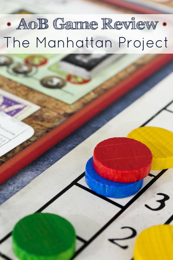 Manhattan Project Review Gaming blog, Fun board games