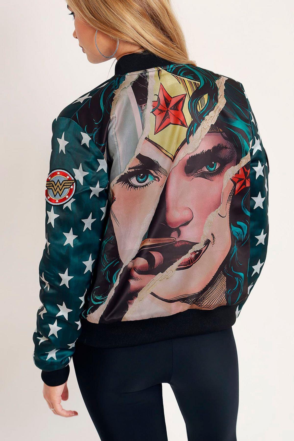 Vintage Wonder Woman Bomber Jacket Limited in 2020