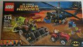 LEGO DC Comics New Sealed Box 76054 Batman Scarecrow Harvest of Fear 563 Pieces