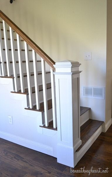 Best How To Build A Newel Post Stair Newel Post Newel Posts 400 x 300