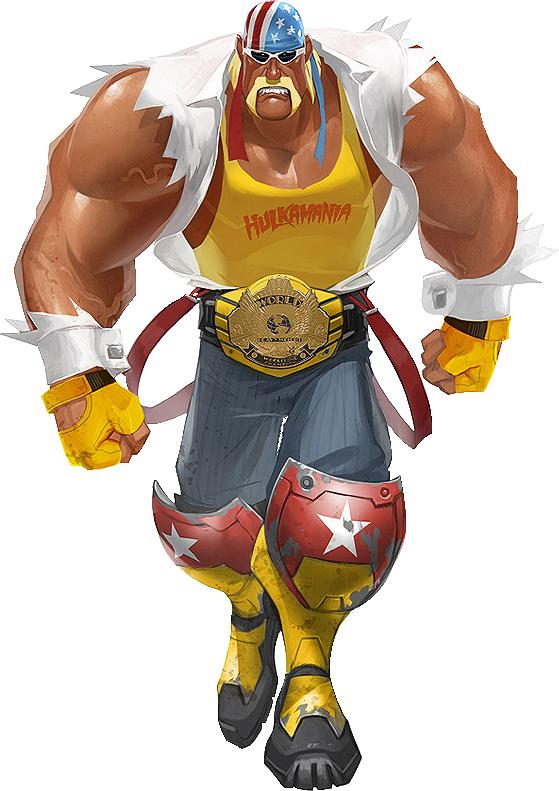 Hulk Hogan From Brawl By Chrischaos369 On Deviantart Hulk Character Hulk Hogan Wwe Legends