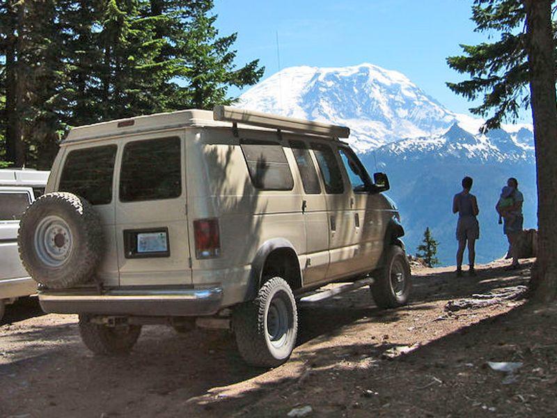 Aluminess Ford Van Off Road Tire Rack Van Life Pinterest