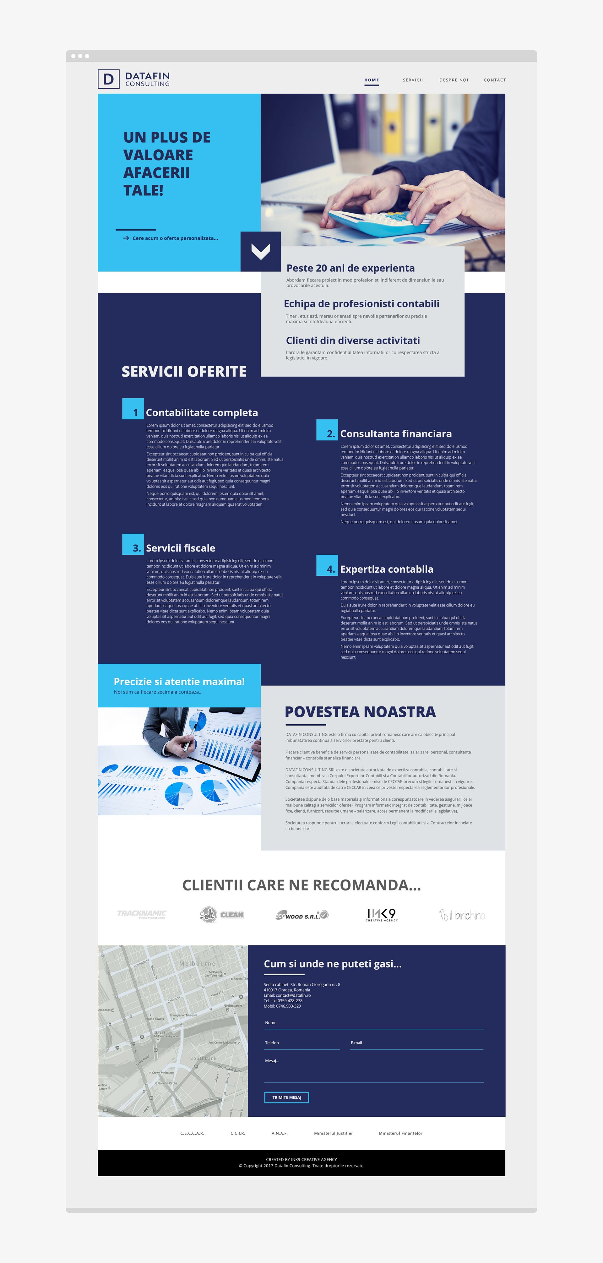 35 Clean And Creative Website Design Ideas For