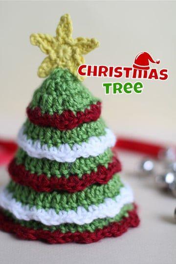Christmas tree   Crochet, Amigurumi   Acrylic, Cotton   Decoration ...   540x360