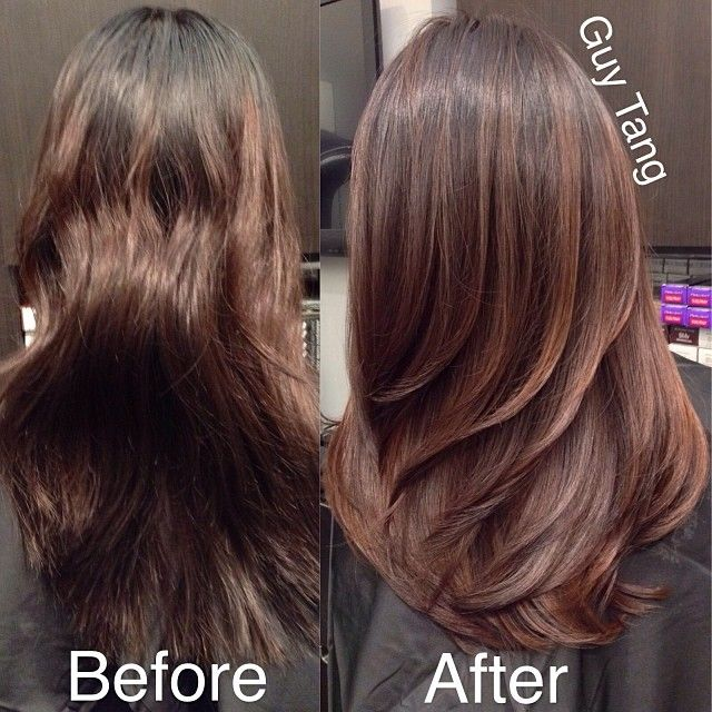 From Uneven Colored Hair To Beautiful Natural Wood Tones Ombre Brunette Balayage Hair Hair Gorgeous Hair