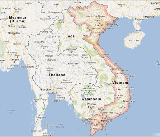 A Basic Introduction To Vietnamese Food Serious Eats - World map in vietnamese