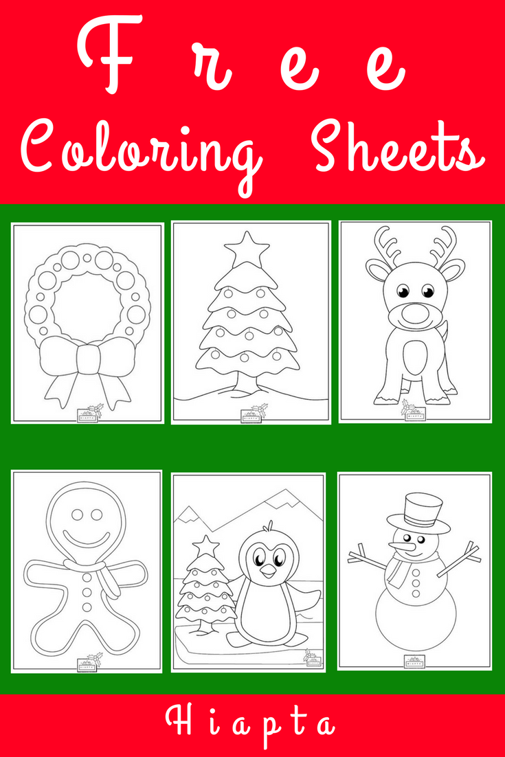 Just click and print free coloring sheets and more from Hiapta ...