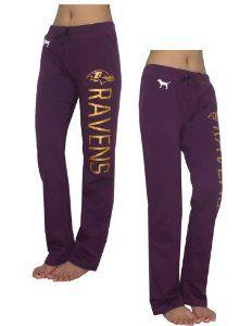381047a3 Amazon.com: Womens NFL Baltimore Ravens Pajama Pants by Pink ...