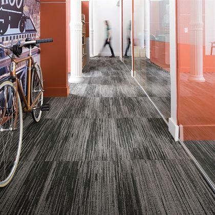 Mannington Commercial With The Grain Modular Carpet Tiles