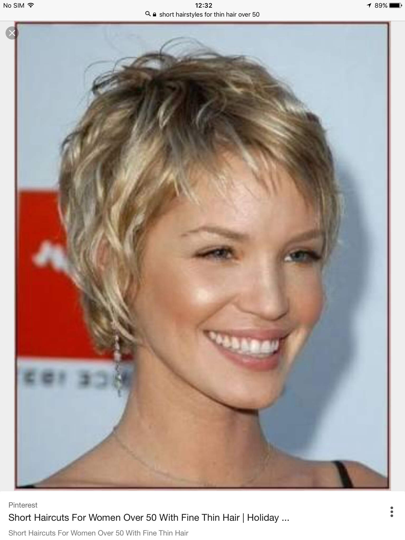 Image result for short hairstyles for over with glasses My