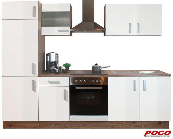 Küchenblock Blanca 270 cm - küchenblock 270 cm