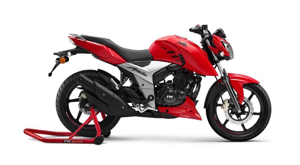 Tvs Apache Rtr 160 4v Crosses 1 Lakh Sales Mark 2020 Tvs Rtr