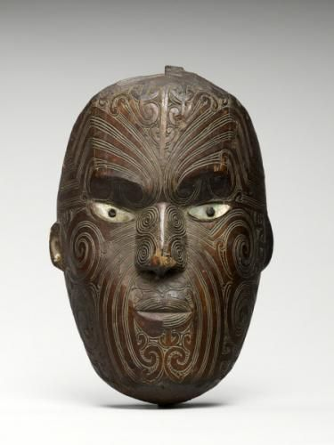 lapita wood mask the mask pinterest masking maori and maori art