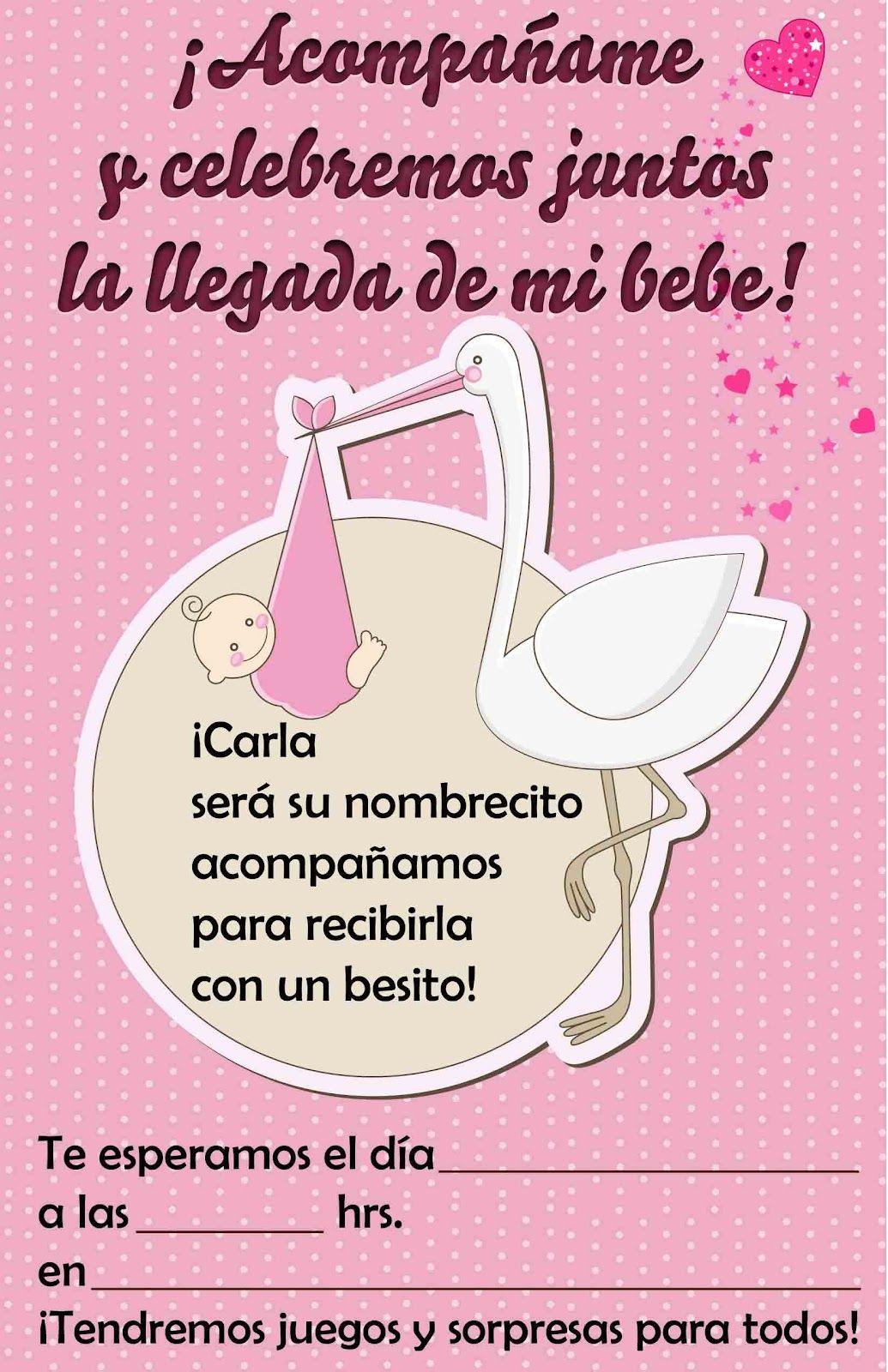 Pin De Rosangela Peña Lopez En Invitaciones Baby Shower