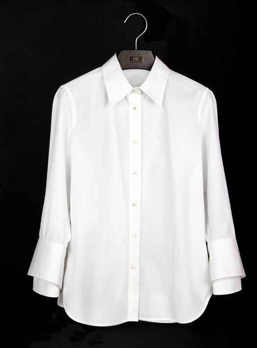 La Camisa Blanca Segun Carolina Herrera - Belleza Y Moda - Estampas