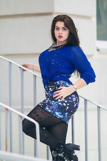 89ce7c54423 Anastasia Vinogradova. Find this Pin and more on Curvy Women ...