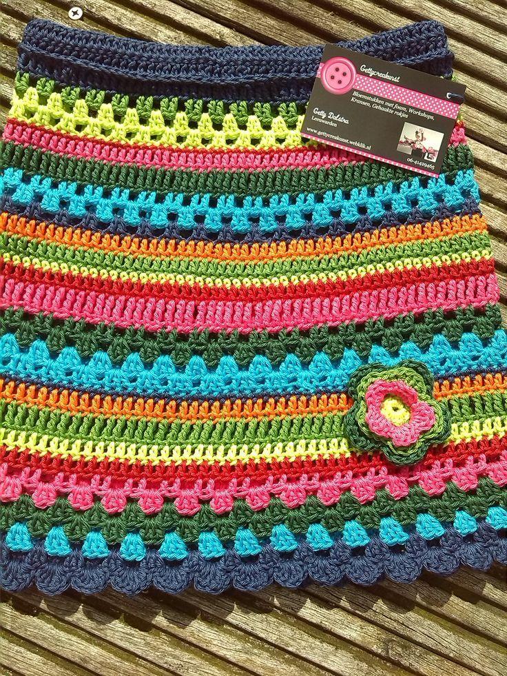 Pin Van J Roos Op Recepten Pinterest Crochet Skirts Crochet En