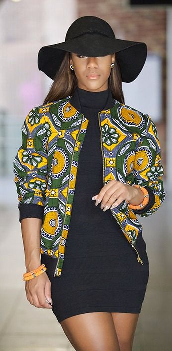 25+ Stylish African Print Ankara Jackets in 2020 & Where to Get Them