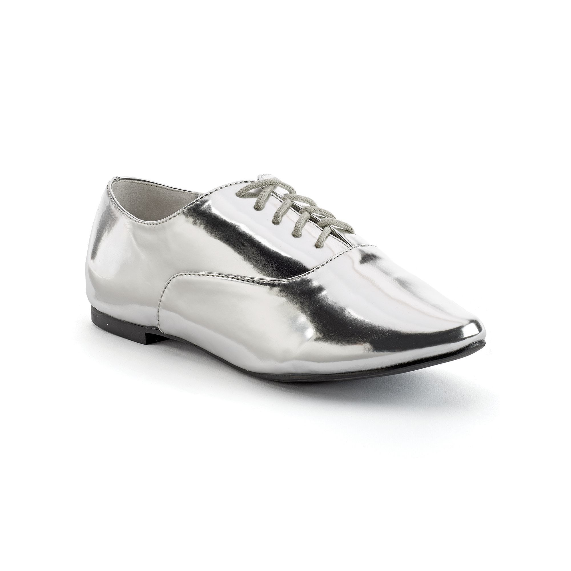 Wide-Width Oxford Shoes, Teens