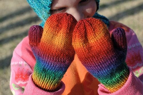 Ravelry Basic Pattern For Childrens Mittens With 4 Needles Pattern