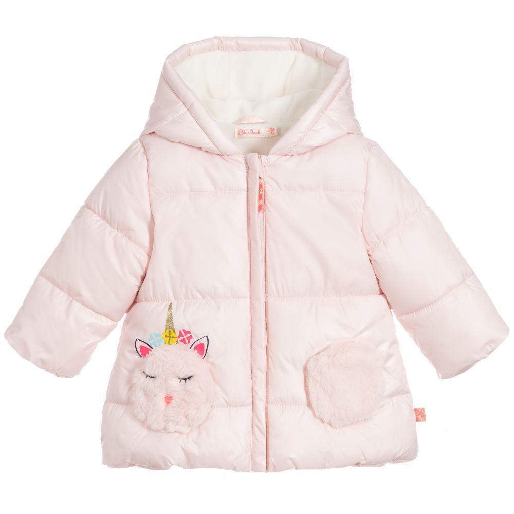 Pink Unicorn Puffer Coat Pink Puffer Coat Puffer Coat Baby Girl Clothes Winter [ 1000 x 1000 Pixel ]