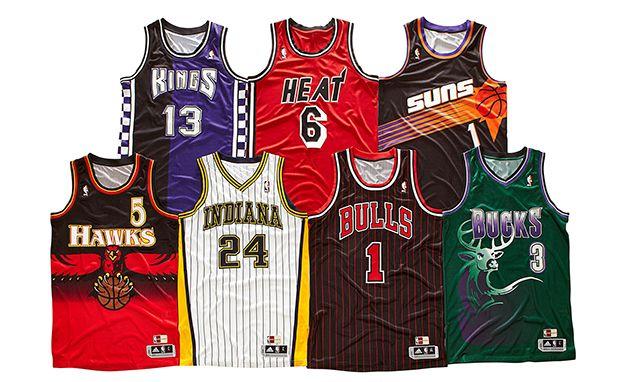 adidas Rolls Out Retro NBA Uniforms | Nba uniforms, Nba jersey ...