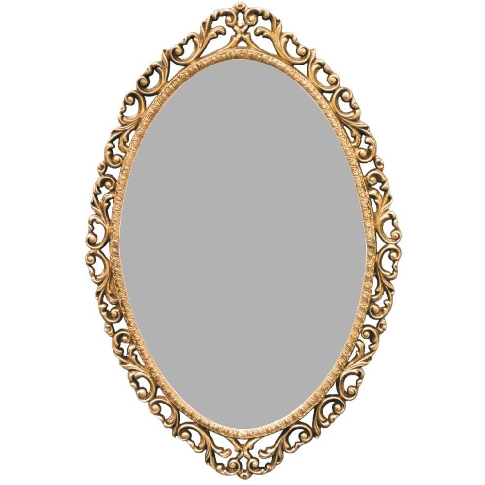 Moldura em bronze macico para espelho barroco grande for Molduras para espejos online