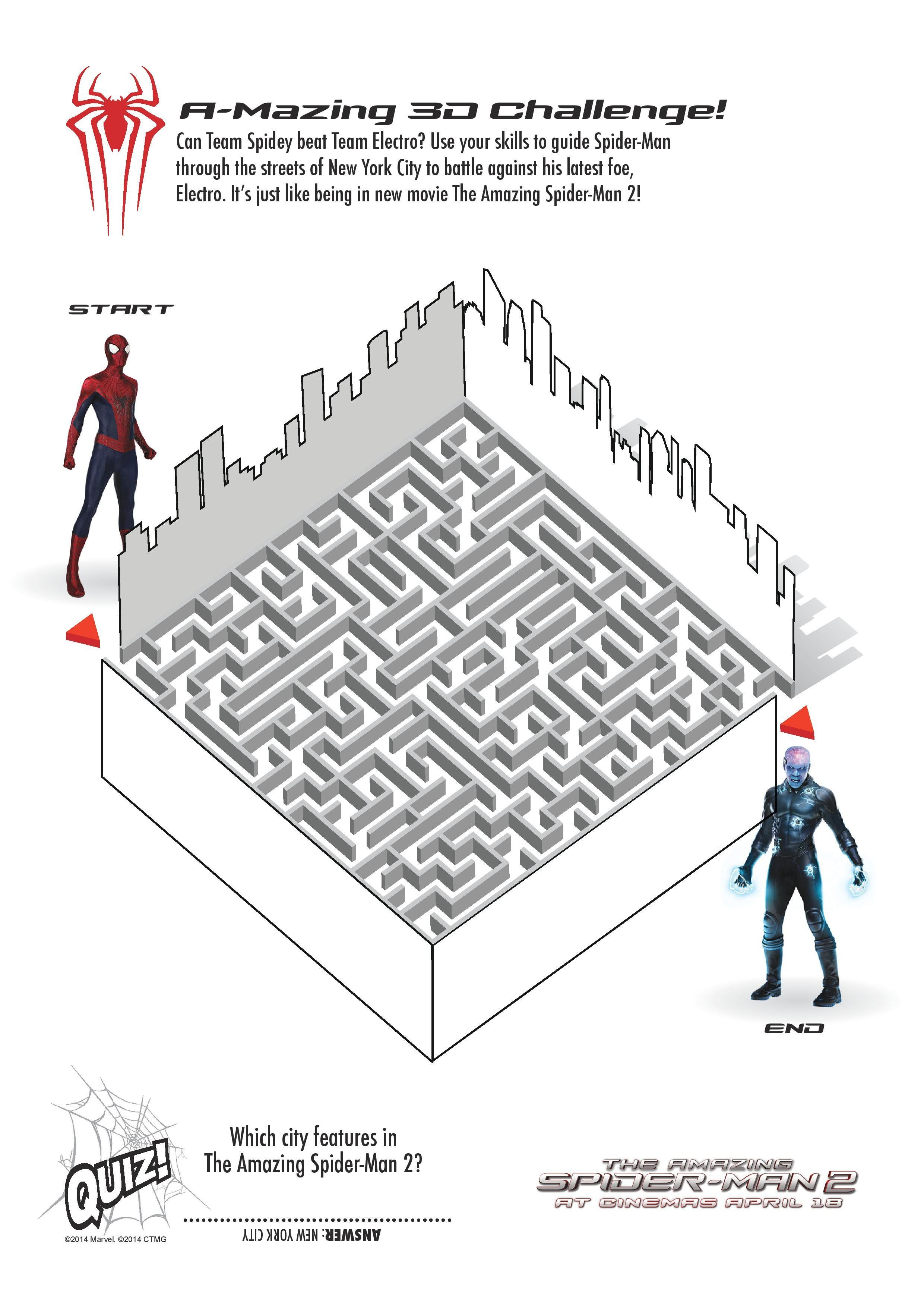 Spiderman2 Activity Pack V4 1 Page 005