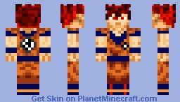Super Saiyan God Minecraft Skin Goku Pinterest Minecraft Skins - Skins para minecraft pe de goku